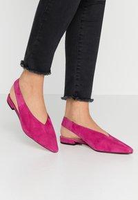 Zign - Bailarinas - pink - 0