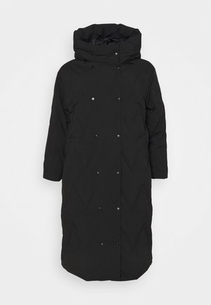 VMPUFFY LONG JACKET - Dunfrakker - black