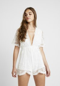 Honey Punch - ROMPER - Overall / Jumpsuit - white - 0