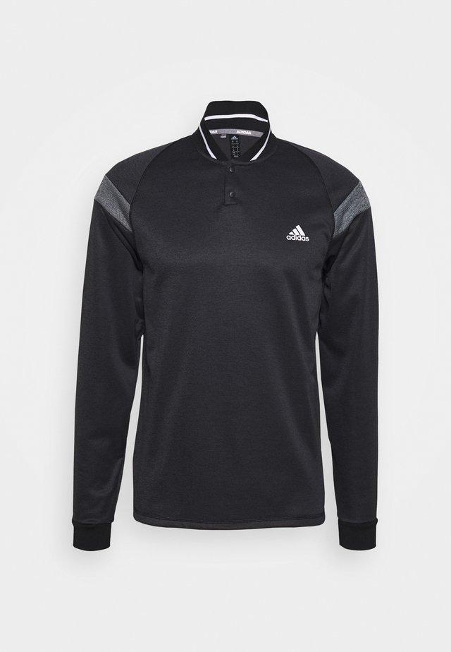 WARMTH 1/4 ZIP - Sweatshirt - black melange