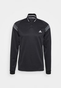 adidas Golf - WARMTH 1/4 ZIP - Sweatshirt - black melange - 3