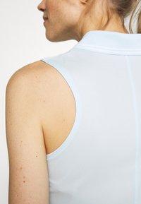 Nike Golf - DRY VICTORY - Funkční triko - topaz mist/white - 5
