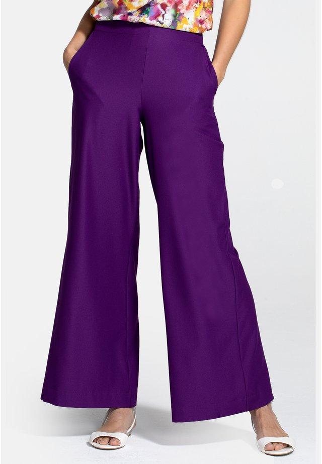 Pantalon classique - purple