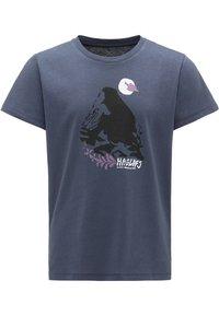 Haglöfs - CAMP TEE - Print T-shirt - dense blue - 0