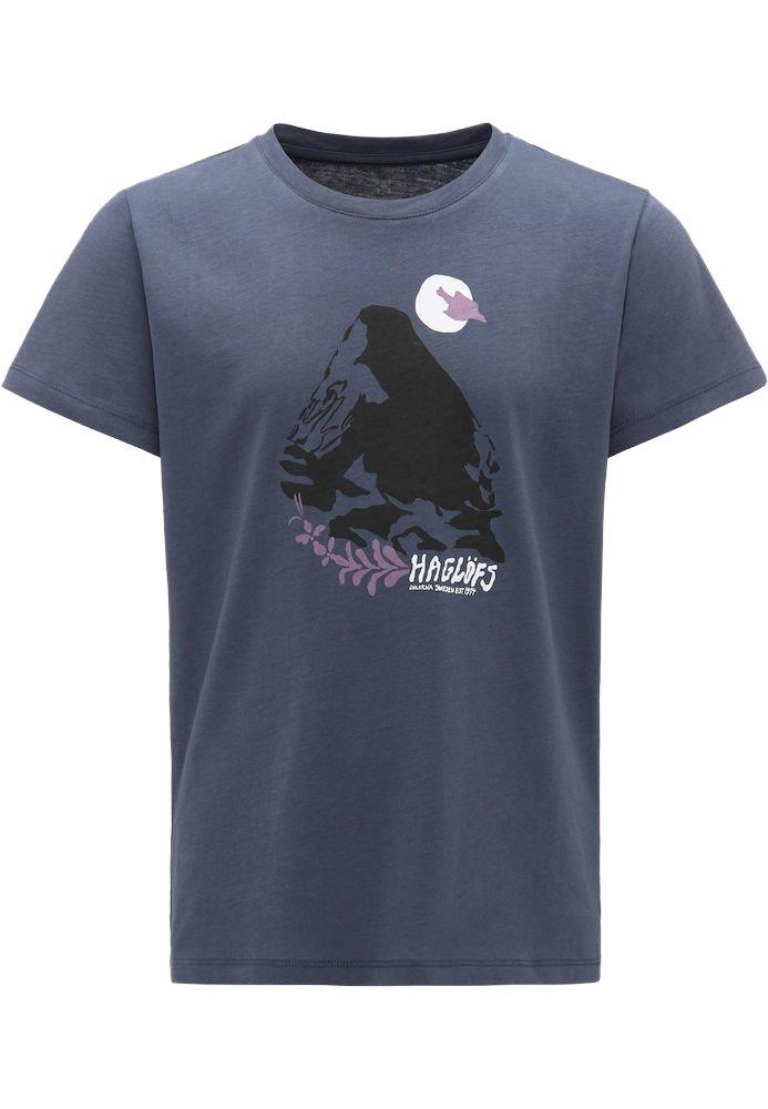 Haglöfs - CAMP TEE - Print T-shirt - dense blue