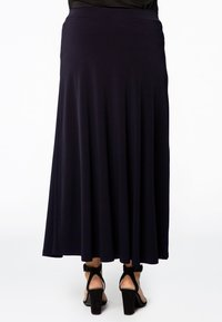 Yoek - Maxi skirt - navy - 2