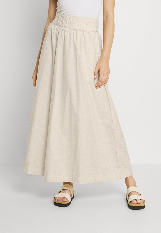 Maxi sukně - white