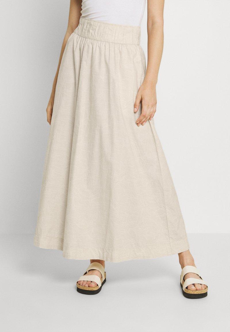 Monki - Maxi skirt - white