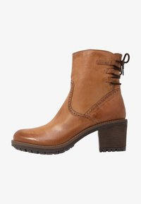 Anna Field - LEATHER BOOTIES - Classic ankle boots - cognac - 1