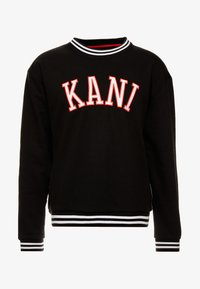 Karl Kani - COLLEGE CREW - Sweatshirt - black/red/white - 3