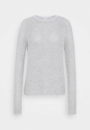 Maglione - mottled light grey