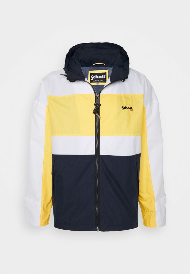 Summer jacket - white/navy