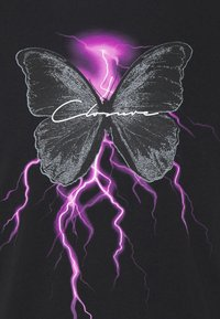CLOSURE London - ELECTRIC BUTTERFLY TEE - T-shirt print - black - 5