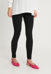 New Look Maternity - 2 PACK - Leggings - Trousers - black - 0