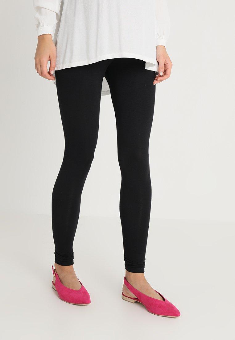 New Look Maternity - 2 PACK - Leggings - Trousers - black