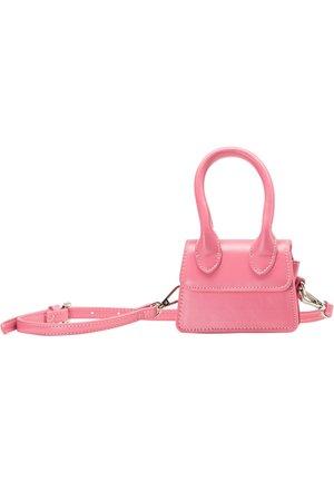 MINI-BAG - Taška spříčným popruhem - light pink
