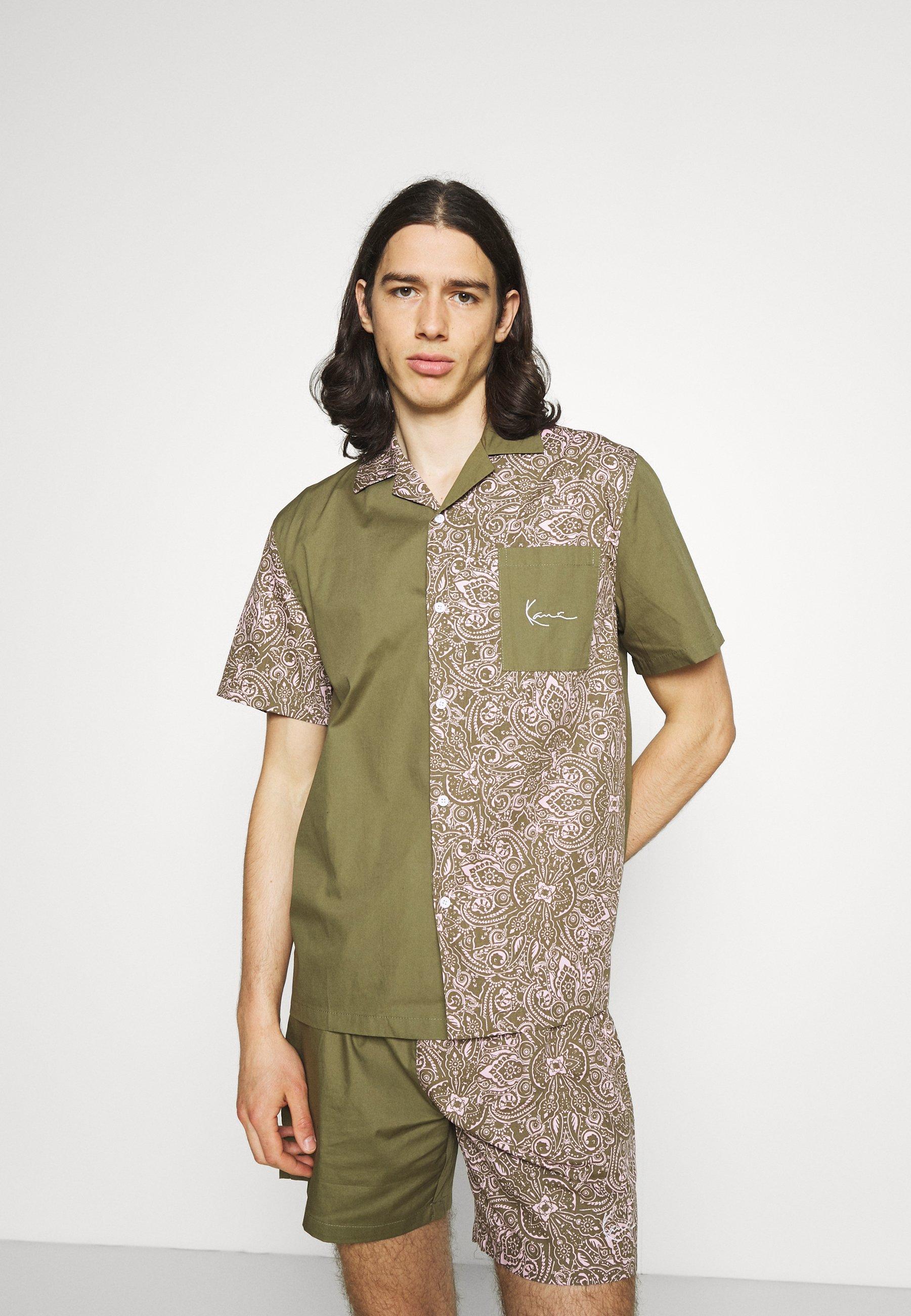Men CHEST SIGNATURE PAISLEY BLOCK RESORT SHIRT  - Shirt
