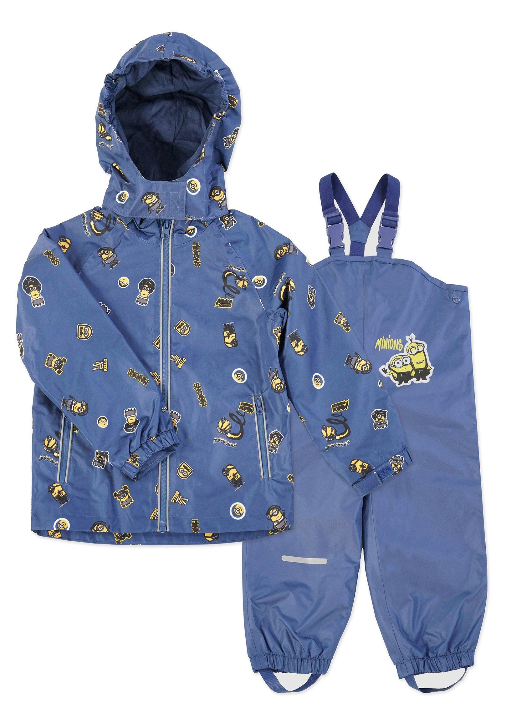 Børn MATSCH UND BUDDELANZUG SET-Waterproof jacket - Regnbukser