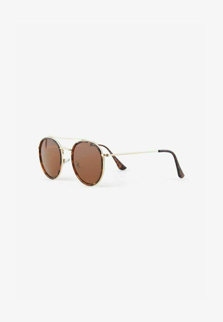 Pieces - Sunglasses - mottled dark brown