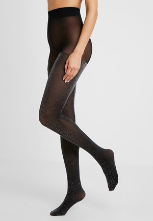 LISA TIGHTS 50 DEN - Punčocháče - black/silver
