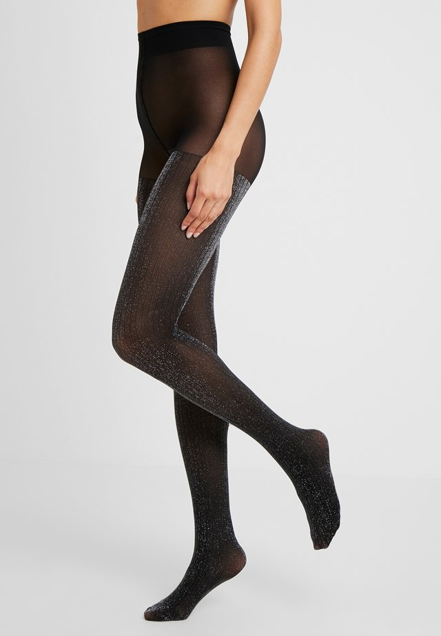 LISA TIGHTS 50 DEN - Collants - black/silver