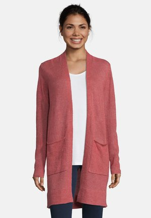 Cardigan - dusty old rose