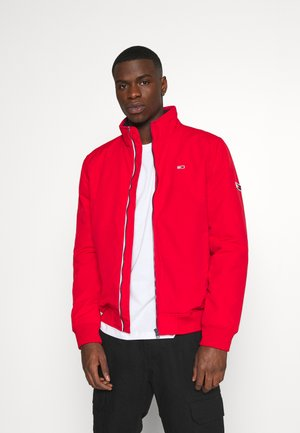 ESSENTIAL PADDED JACKET - Light jacket - deep crimson