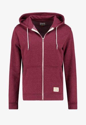 REGULAR FIT - Zip-up hoodie - zinfandel