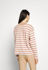 Monki - Long sleeved top - blue light/rost - 2
