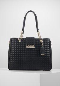 Guess - MATRIX ELITE CARRYALL - Handbag - black - 0
