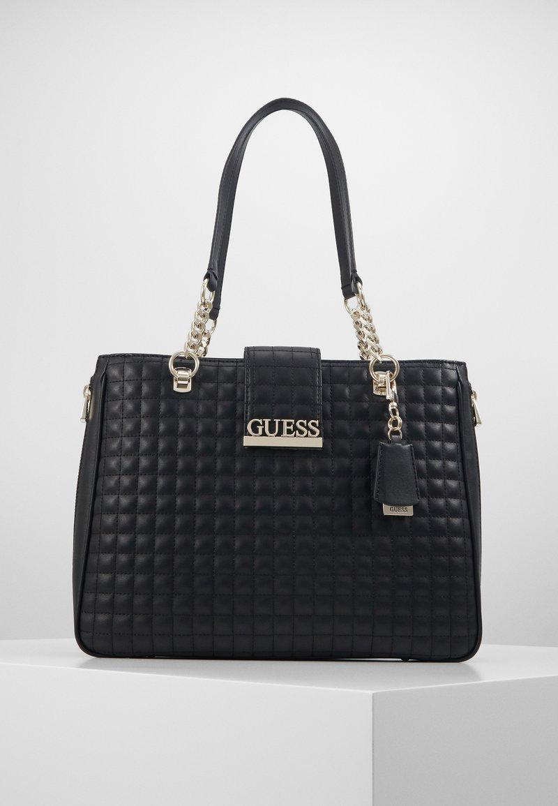 Guess - MATRIX ELITE CARRYALL - Handbag - black