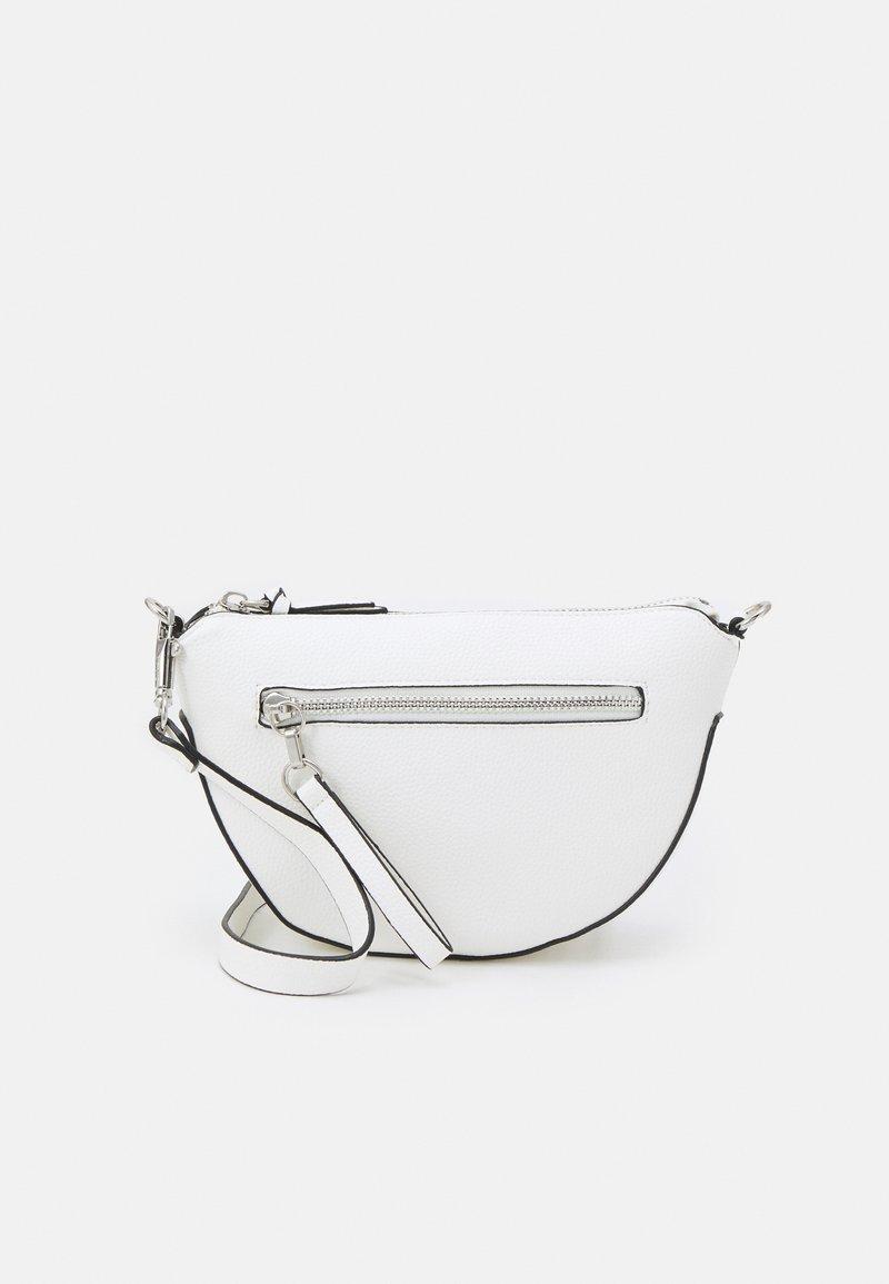 PARFOIS - CROSSBODY BAG CLAY M - Across body bag - white