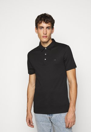 SLEEK - Polo shirt - black