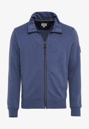 Zip-up hoodie - sea blue