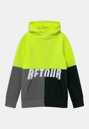 RICK - Sweatshirt - neon yellow