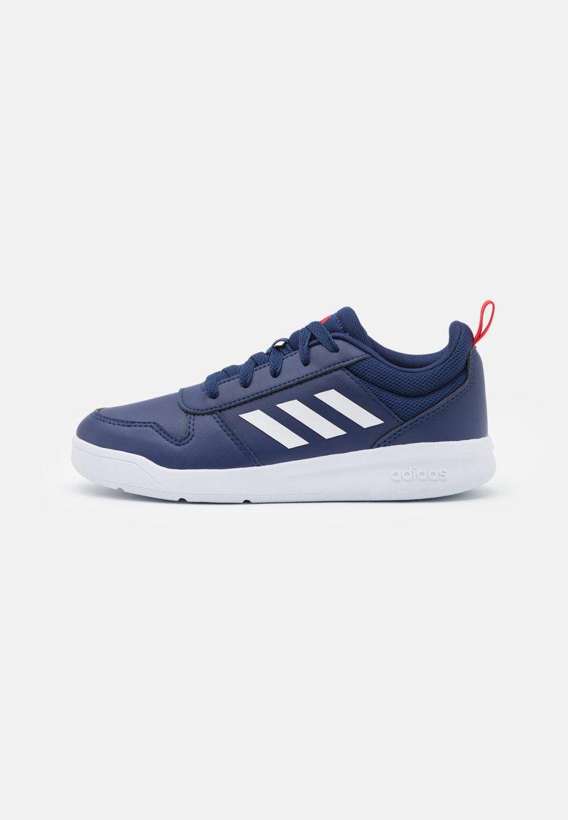 adidas Performance - TENSAUR UNISEX - Sports shoes - dark blue/footwear white/active red