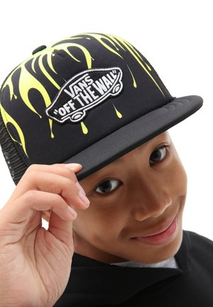 BY CLASSIC PATCH TRUCKER PLUS BOYS - Keps - black/slime