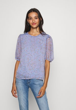 JDYNELLY PUFF  - Blouse - vista blue