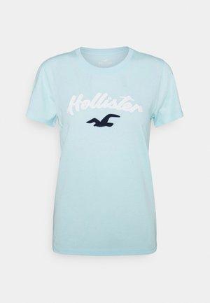 TIMELESS - T-shirt med print - light blue