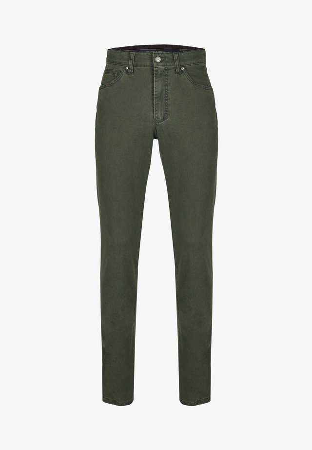 HENRY-X - Slim fit jeans - oliv