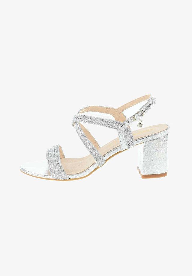 FORNELLI - Sandals - silver