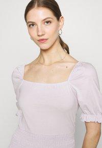 Even&Odd - Basic T-shirt - lilac - 3