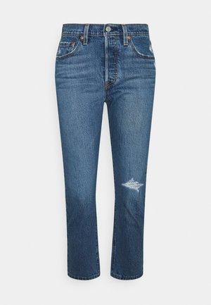 501 CROP - Jeans Straight Leg - salsa middle