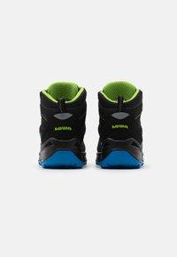 Lowa - ZIRROX GTX MID JUNIOR UNISEX - Hiking shoes - schwarz/limone - 2