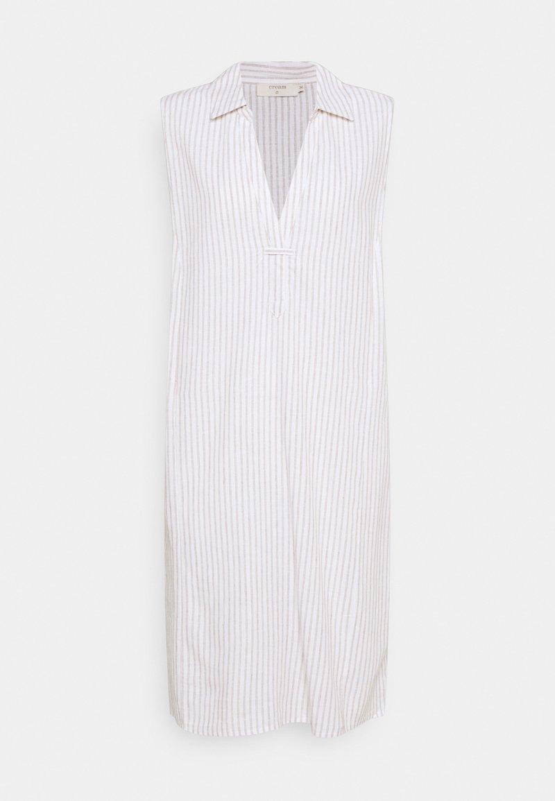 Cream - VENTA DRESS - Day dress - straw