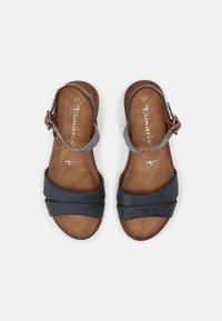 Tamaris - Sandals - navy comb - 4
