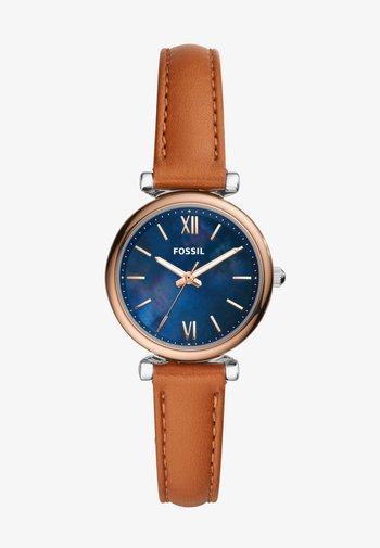 CARLIE MINI - Watch - brown