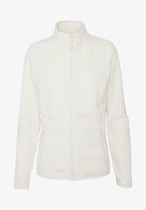 GLACIER FULL ZIP - Fleece jacket - vintage white