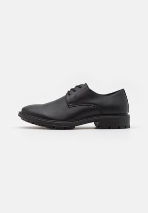 JFWJOHN DERBY - Smart lace-ups - anthracite