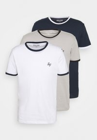 JORWALTEE CREW NECK 3 PACK - Print T-shirt - white